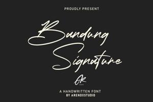 Bandung Signature