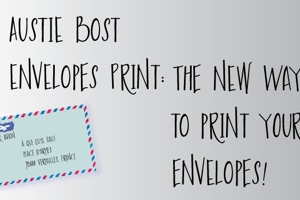 Austie Bost Envelopes Print