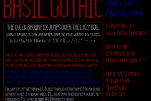 Basil Gothic NBP