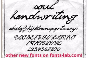 soul handwriting