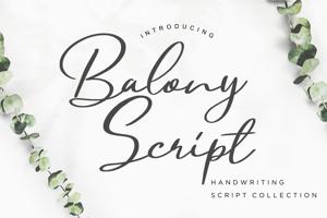 Balony Script