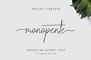 monopente