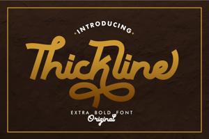 Thickline
