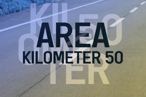 a Area Kilometer 50