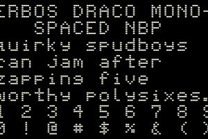 Erbos Draco Monospaced NBP