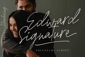 Edward Signature
