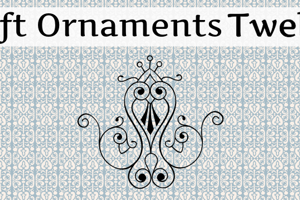 Soft Ornaments Twelve