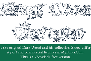 DarkWoodBeveled
