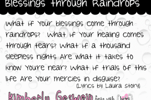 Blessings through Raindrops
