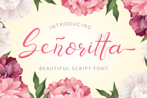 Senoritta - Beautiful Script