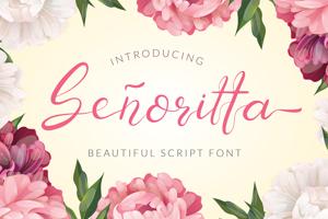 Senoritta - Beautiful Script