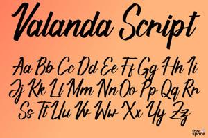 Valanda Script