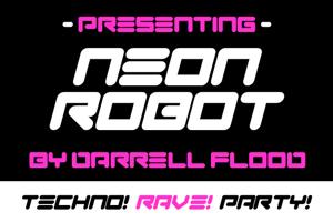 Neon Robot
