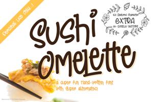 Sushi Omelette DEMO