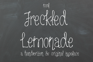 MRF Freckled Lemonade