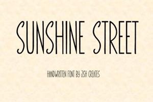 Sunshine Street On