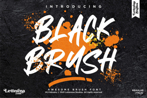 BLACK BRUSH