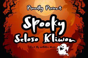 Spooky Seloso Kliwon
