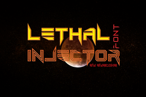 Lethal Injector Bold