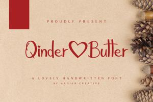 Qinder Butter