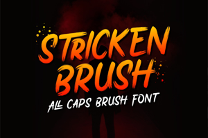 Stricken Brush