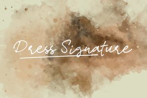 d Dress Signature