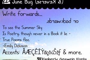 KG June Bug