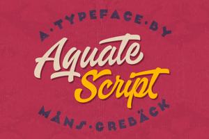 Aquate Script