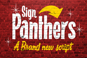Sign Panthers Script