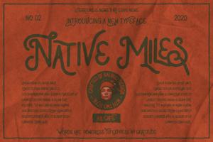 Native Miles Type