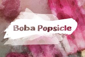 b Boba Popsicle