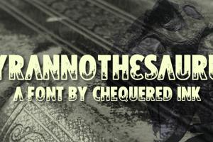 Tyrannothesaurus