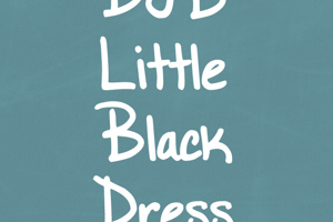 DJB Little Black Dress