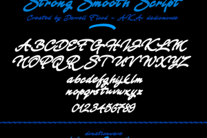 Strong Smooth Script