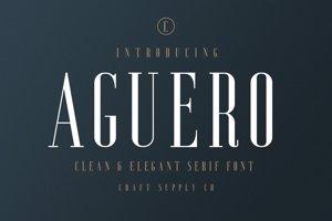 Aguero Serif