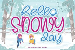 Hello Snowy
