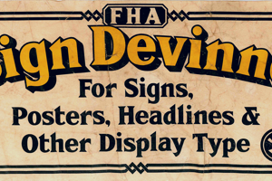 FHA Sign DeVinneNC