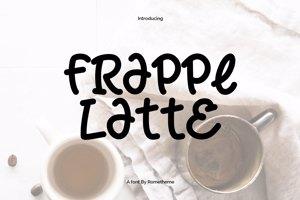 Frappe Latte