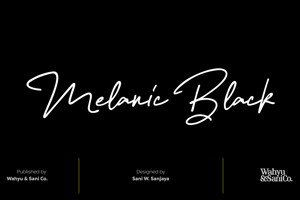 Melanic Black