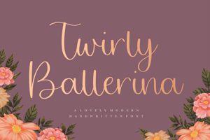 Twirly Ballerina
