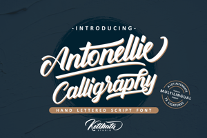 Antonellie Calligraphy Demo