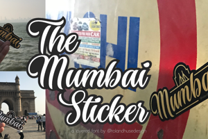 The Mumbai Sticker
