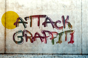 a Attack Graffiti