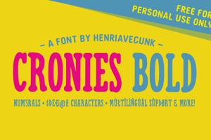 Cronies Bold