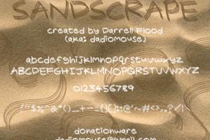 Sandscrape