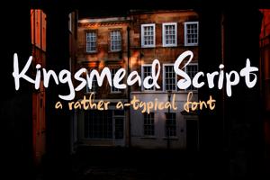Kingsmead Script DEMO
