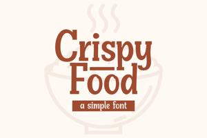 Crispy Food