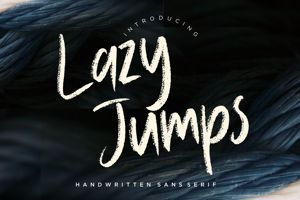 Lazy Jumps Sans Serif