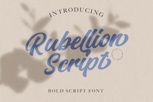 Rubellion Script Personal