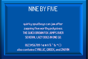Nine By Five NBP